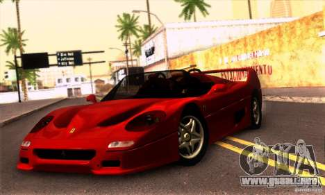 Ferrari F50 Spider para GTA San Andreas