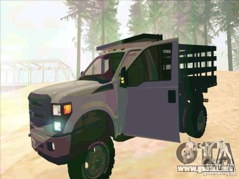 Ford F-450 para GTA San Andreas left