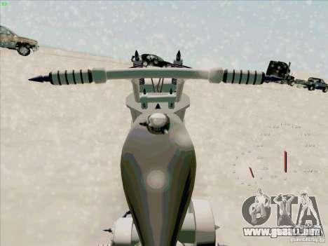 Harley para la visión correcta GTA San Andreas