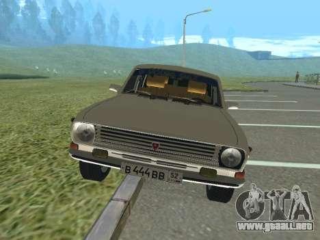 Volga GAZ-24 12 para GTA San Andreas left