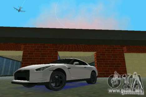 Nissan GT-R Spec V 2010 v1.0 para GTA Vice City left