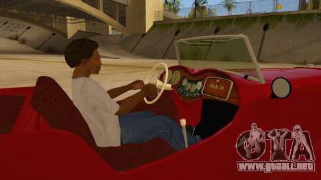 MG Augest para visión interna GTA San Andreas