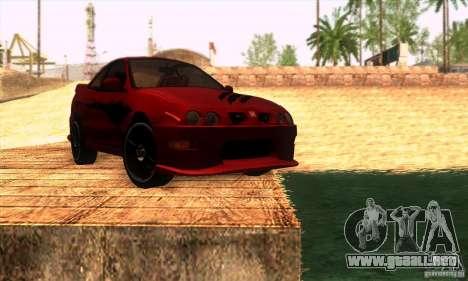 Honda Integra Tunable para el motor de GTA San Andreas