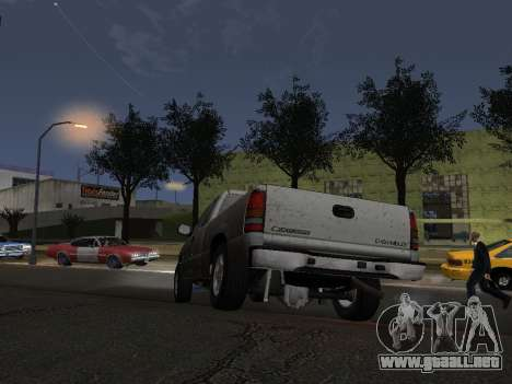 Chevorlet Silverado 2000 para la vista superior GTA San Andreas