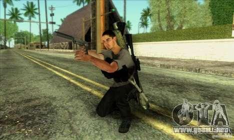Jack Rourke para GTA San Andreas sucesivamente de pantalla