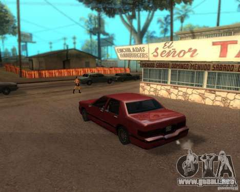 ENBSeries para el medio- y PC de alta potencia para GTA San Andreas segunda pantalla