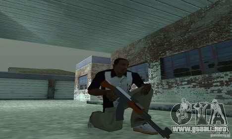 La nueva AK-47 para GTA San Andreas segunda pantalla