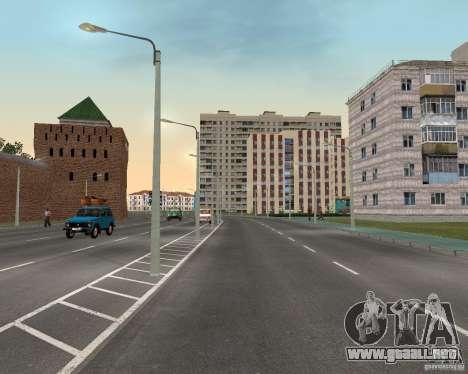 Nižegorodsk v0.1 BETA para GTA San Andreas tercera pantalla