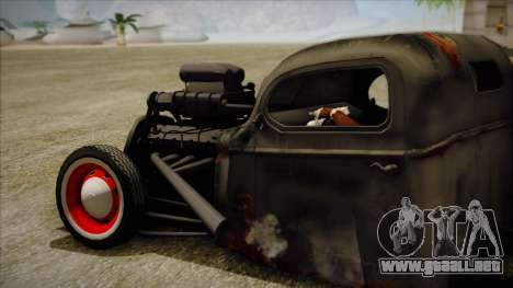 Rat Rod para GTA San Andreas left