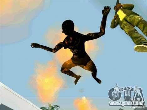 Cuerpos calcinados para GTA San Andreas segunda pantalla