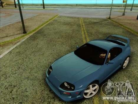 Toyota Supra RZ 1998 para la visión correcta GTA San Andreas
