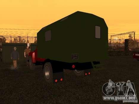 GAZ 52 para la visión correcta GTA San Andreas