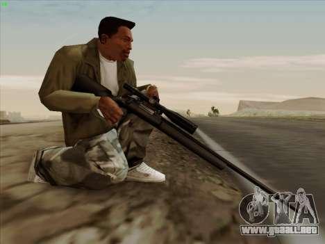 Remington 700 para GTA San Andreas sucesivamente de pantalla