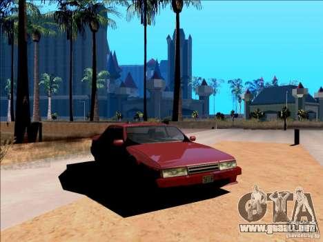 ENBSeries v1.1 para GTA San Andreas segunda pantalla