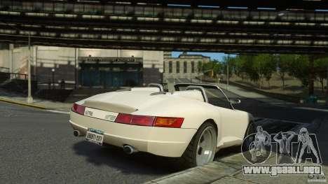 Comet Speedster para GTA 4 left