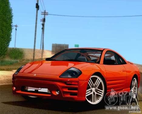 Mitsubishi Eclipse GTS 2003 para la visión correcta GTA San Andreas