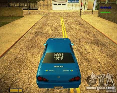 Pak vinilos para Elegy para visión interna GTA San Andreas