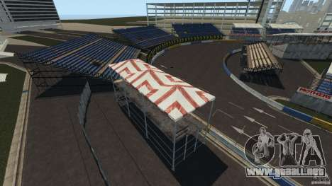 Long Beach Circuit [Beta] para GTA 4 sexto de pantalla