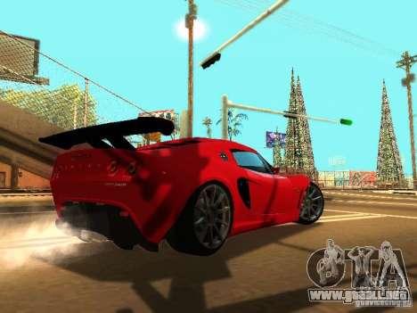 Lotus Exige 240R para vista inferior GTA San Andreas