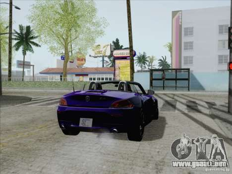 BMW Z4 2011 para GTA San Andreas left