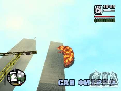 Torres Gemelas BETA para GTA San Andreas