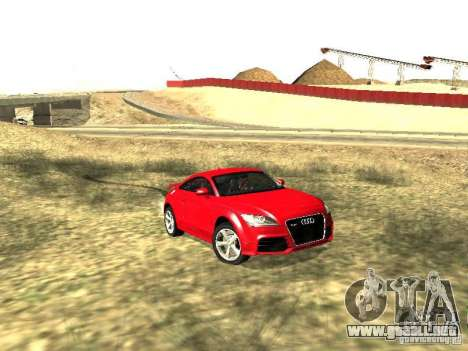 Audi TT-RS Coupe 2011 v.2.0 para GTA San Andreas left