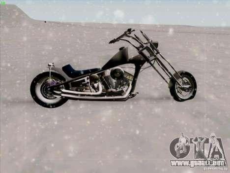 Harley para visión interna GTA San Andreas
