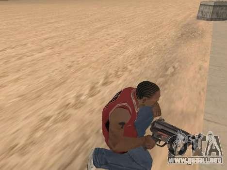 MP5K para GTA San Andreas quinta pantalla
