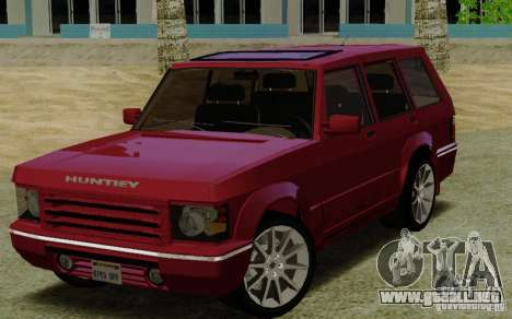 Huntley Freelander para GTA San Andreas