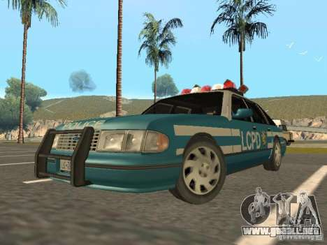 HD Police from GTA 3 para GTA San Andreas left