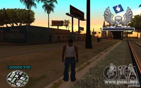 C-HUD awk William para GTA San Andreas