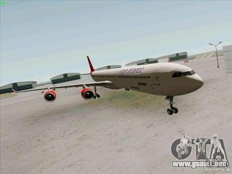 Airbus A-340-600 Virgin para GTA San Andreas