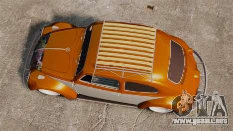 Volkswagen Fusca Edit para GTA 4 visión correcta
