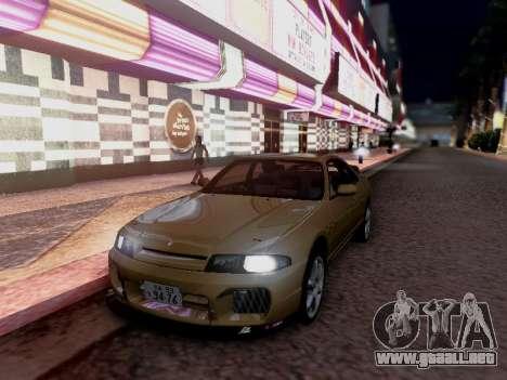 Nissan Skyline ECR33 para la visión correcta GTA San Andreas