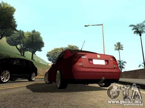 Volkswagen Bora DUB para GTA San Andreas left