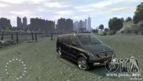 Mercedes-Benz Vito 2013 para GTA 4 left