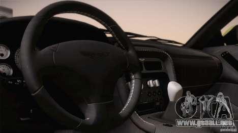 Aston Martin DB7 Zagato 2003 para GTA San Andreas