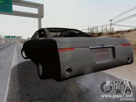 Ford Fortynine para GTA San Andreas vista posterior izquierda