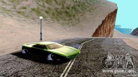 ENBSeries HQ para GTA San Andreas segunda pantalla