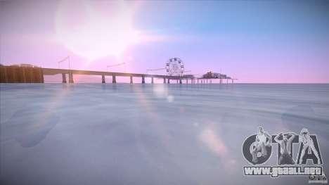 First Person Mod v2 para GTA San Andreas quinta pantalla