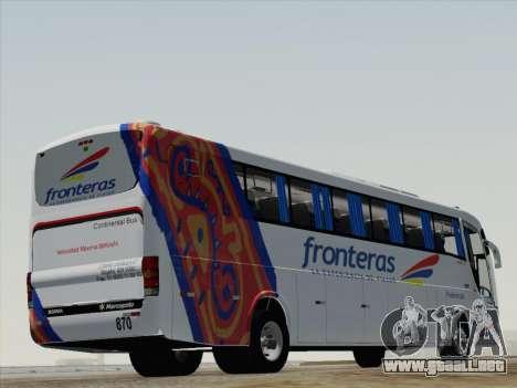 Marcopolo Paradiso 1200 G6 para la visión correcta GTA San Andreas