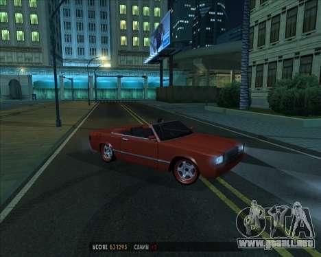 Feltzer v1.0 para visión interna GTA San Andreas