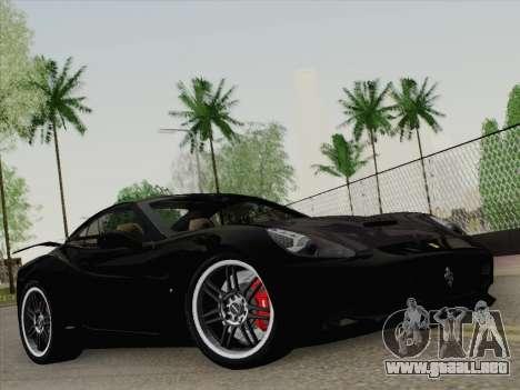 Ferrari California para el motor de GTA San Andreas
