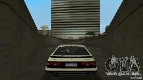 Toyota Trueno Sprinter para GTA Vice City visión correcta