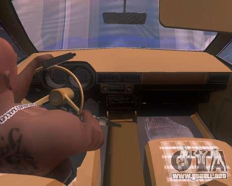 Ford Pinto 1973 Final para GTA San Andreas vista posterior izquierda