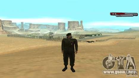 General para GTA San Andreas quinta pantalla