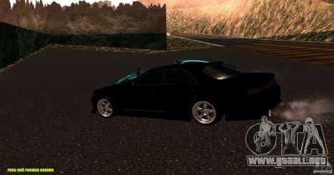 Toyota Mark II JZX90 para GTA San Andreas left