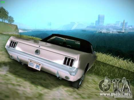 Ford Mustang Convertible 1964 para GTA San Andreas left