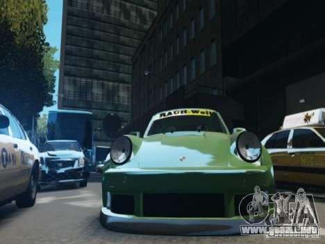 Porsche 911 Turbo RWB Pandora One Beta para GTA 4 vista lateral