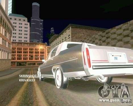 Young ENBSeries para GTA San Andreas octavo de pantalla
